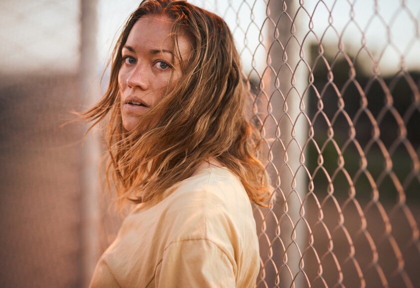 """Yvonne Strahovski plays a white Australian who mistakenly winds up in an immigration detention center in """"Stateless."""""""