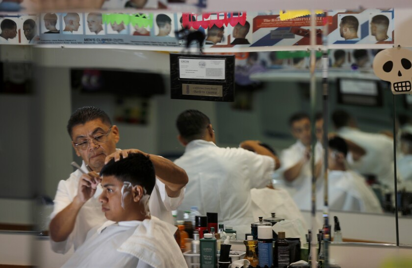 Asian hair, and what we talk about in L.A. barbershops