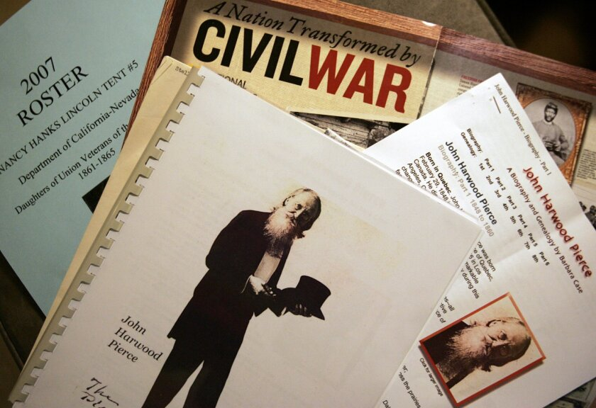 "John Harwood Pierce was ""quite a character."""