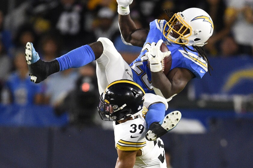 Steelers Chargers Football