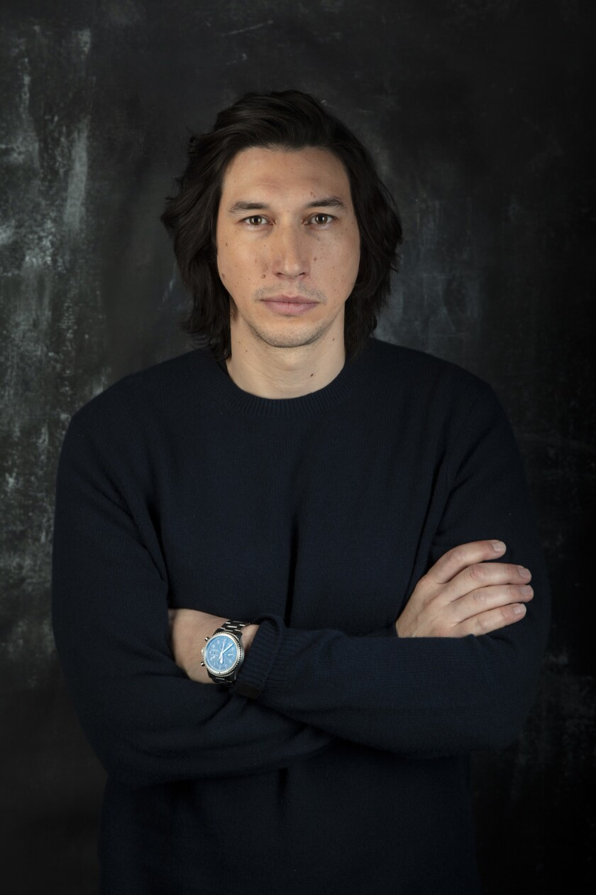 "PARK CITY, UTAH -- JANUARY 26, 2019 -- Actor Adam Driver, from the film, ""The Report,"" photographed"