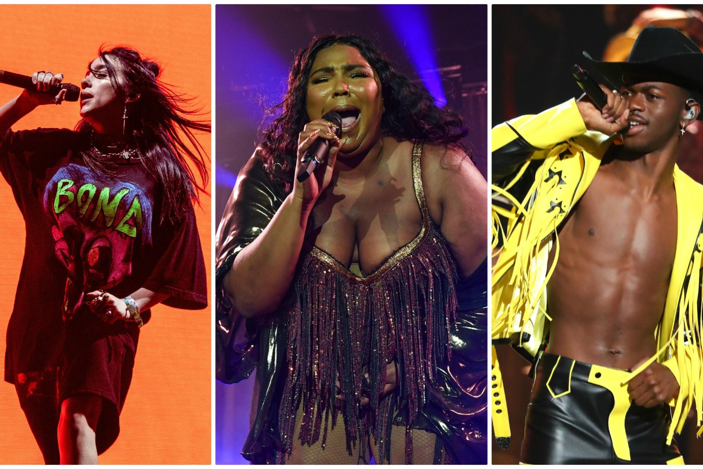 2020 Grammys Full Show.2020 Grammy Nominations List Lizzo Billie Eilish And Lil
