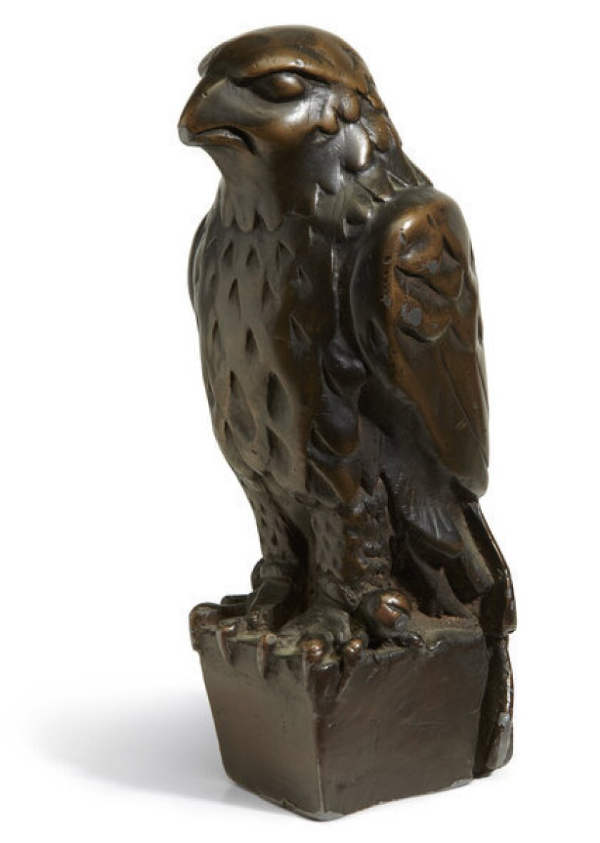 """This prop from """"The Maltese Falcon"""" sold at auction for more than $4 million."""