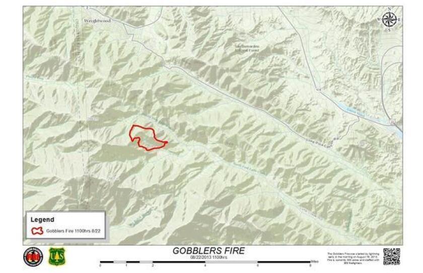 Gobbler fire line