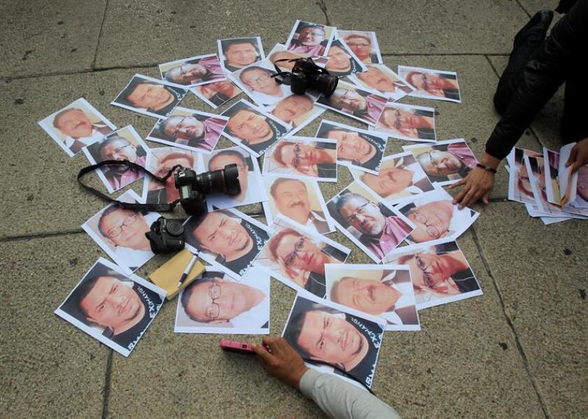 El periodista Rafael Murúa Manríquez, director de una radio comunitaria en el noroccidental estado mexicano de Baja California Sur, fue encontrado muerto este domingo con signos de violencia, informaron hoy organizaciones gremiales. EFE/Archivo