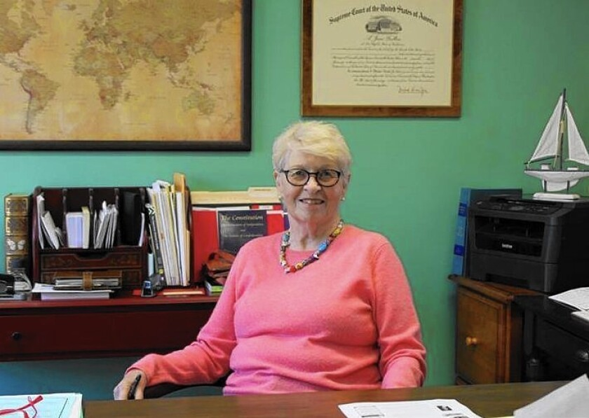 Laguna Beach resident Jane Fulton started a nonprofit that offers free legal advice to clients.