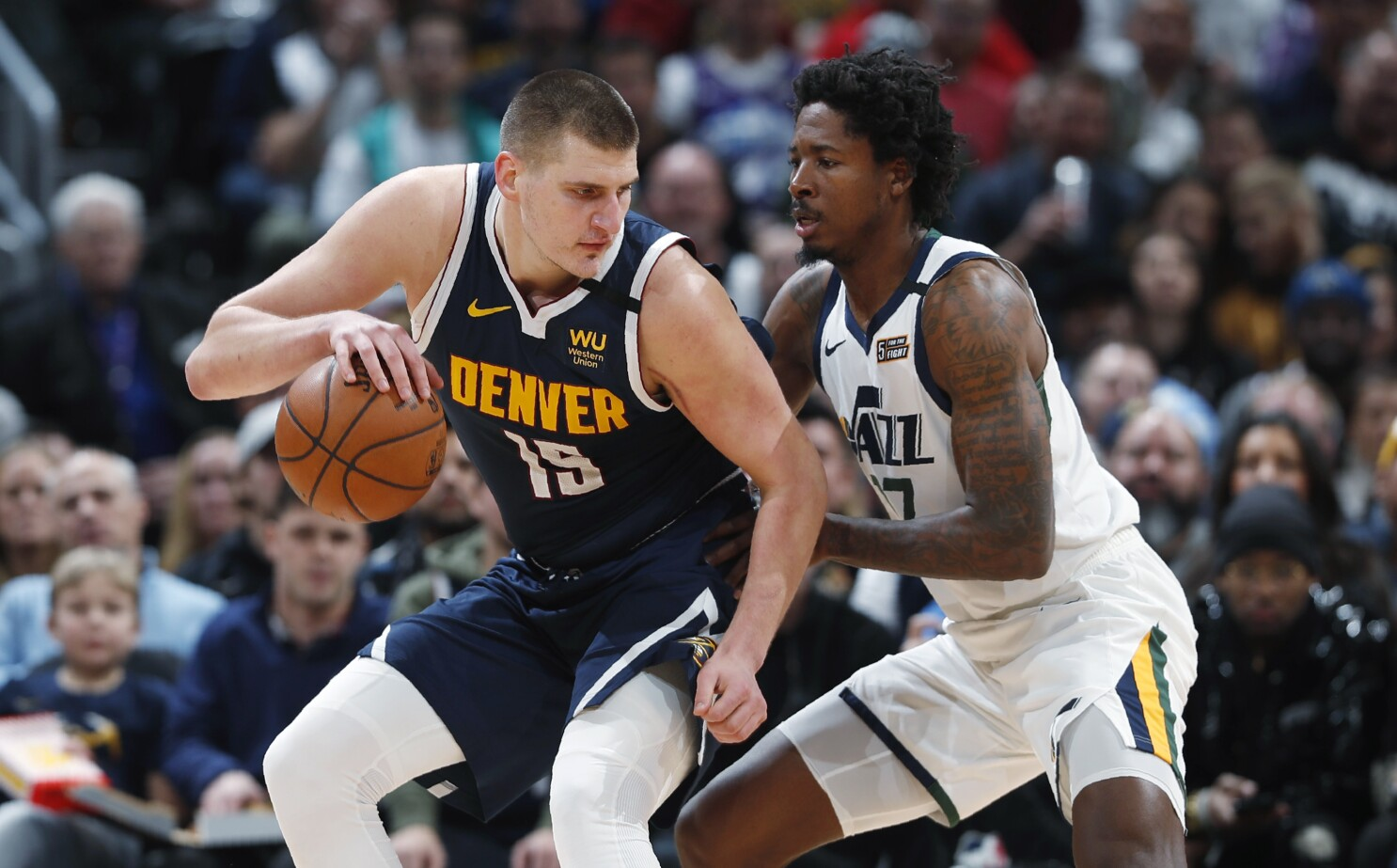 Nikola Jokic carries short-handed Nuggets past Jazz 106-100 - The ...