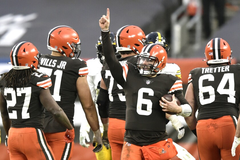 NFL playoff matchups and schedule: Cleveland Browns are back - Los Angeles  Times