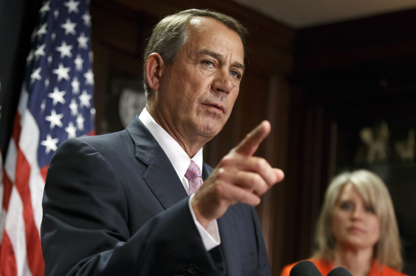 Still hoping to find wreckage: House Speaker John Boehner, R-Ohio