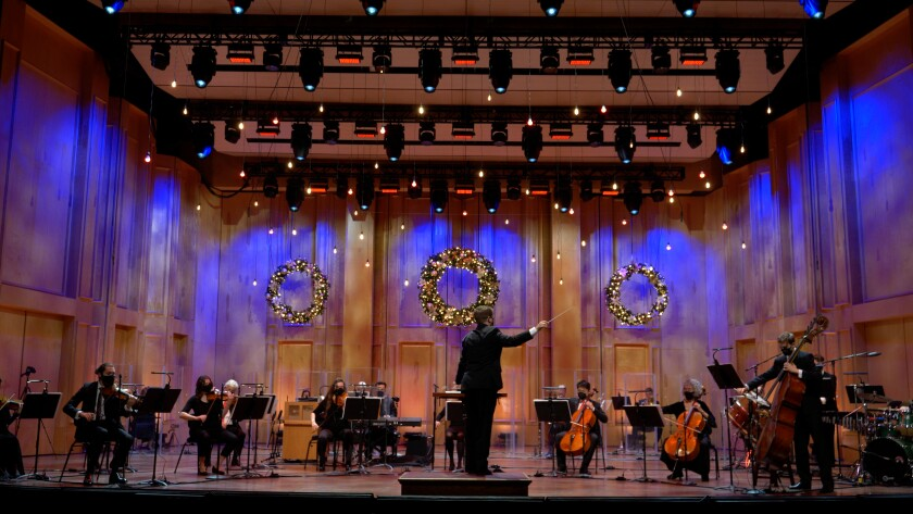 "The San Diego Symphony presents the holiday concert ""Noel Noel"" online Friday, Dec. 18."