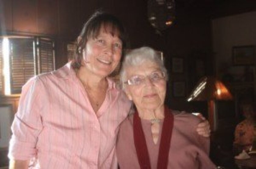 Dorothy Haven and her daughter Jeri.