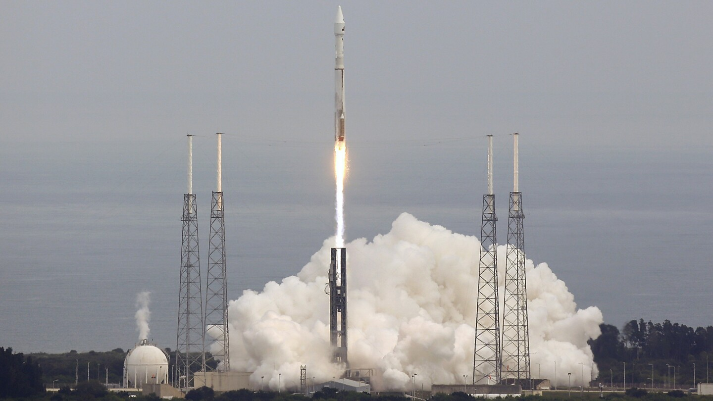 NASA's Mars Atmosphere and Volatile EvolutioN (MAVEN) spacecraft launches at 1:28 pm ET Nov. 18 out of Cape Canaveral, Florida. The orbiter is NASA's first to explore the Martian upper atmosphere.