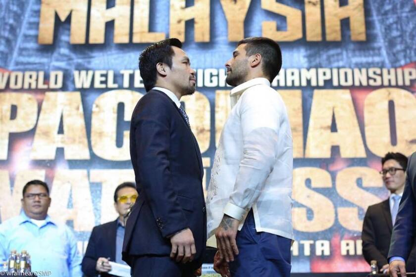 Manny Pacquiao vs Lucas Matthysse, choque inminente...