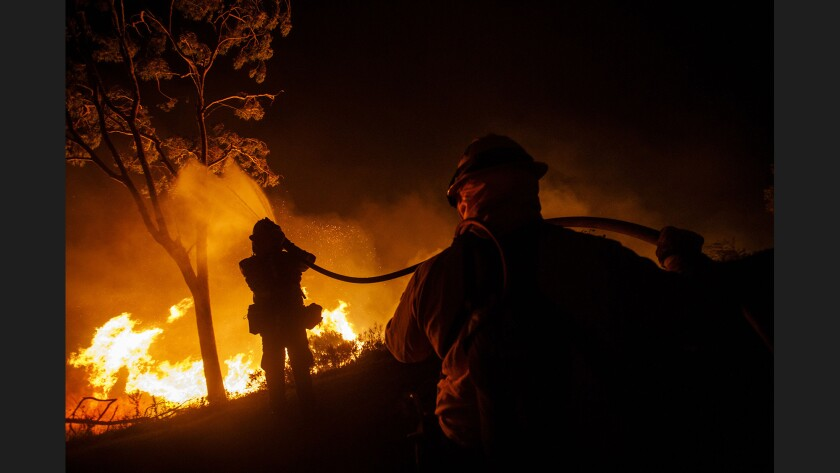 San Diego County's Lilac fire explodes to 4,100 acres - Los