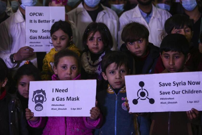 Rusia insiste en que Siria no estuvo detrás del ataque químico de Jan Shijún