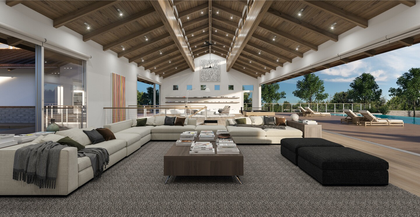 The group includes a quintet of Midcentury mansions, a Malibu Road beach house and an estate called New Castle listed for $75 million.