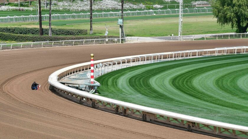 US-RACE-HORSE-TRACK