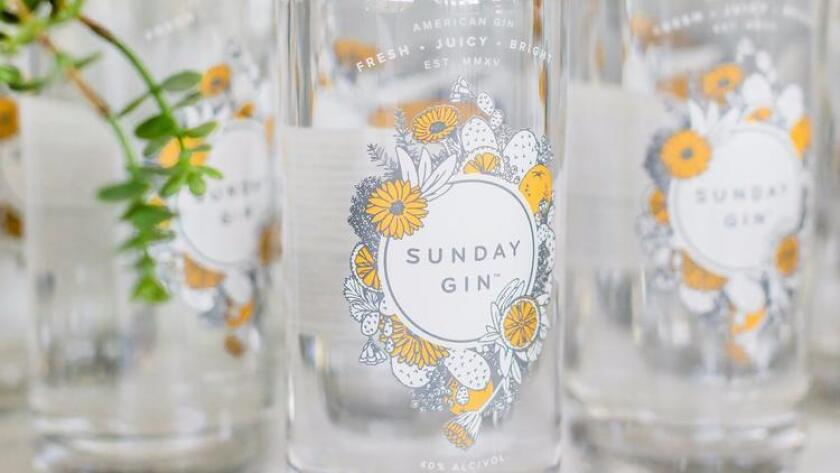 You & Yours' Sunday Gin is the star ingredient in the prettiest cocktail for the summer, the Garden Party. (courtesy photo)