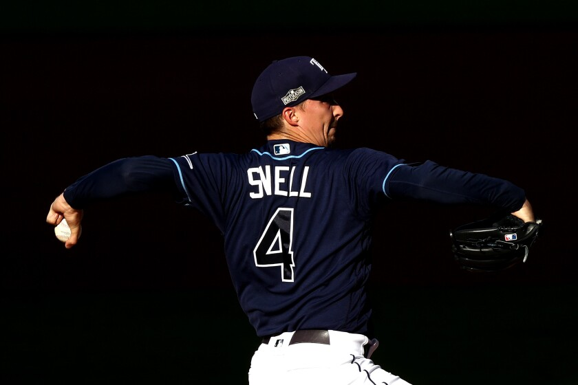 Blake Snell is among the key additions for the Padres heading into the 2021 season.