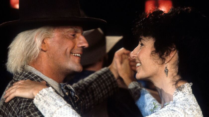 Christopher Lloyd And Mary Steenburgen In 'Back to the Future Part III'