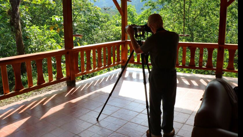 Bird photographers from around the world come to Jocotoco's reserves to photograph birds (many endan