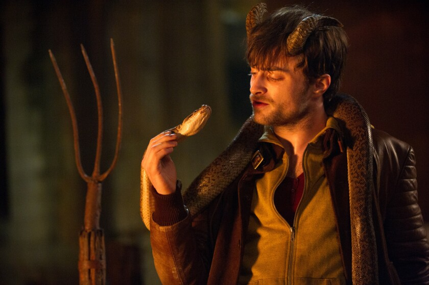 """Daniel Radcliffe in the movie """"Horns."""""""