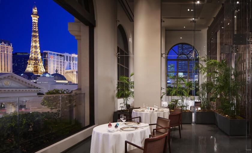 Guy Savoy dining room