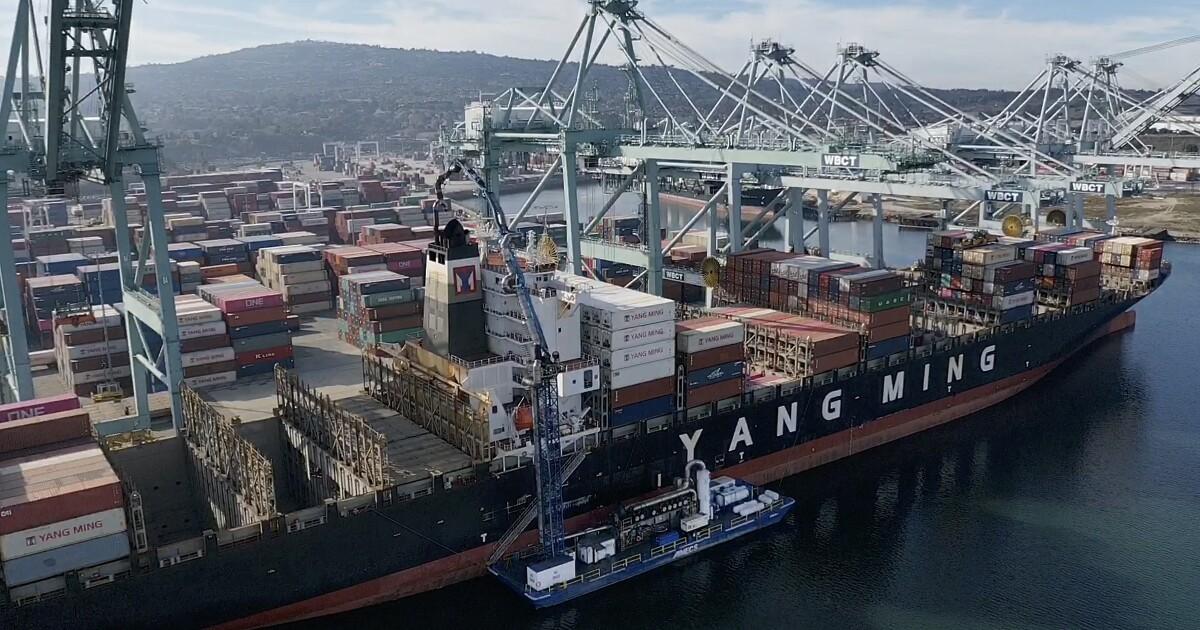 港船舶にとってL.A.最大の害. までカリフォルニア力清掃?