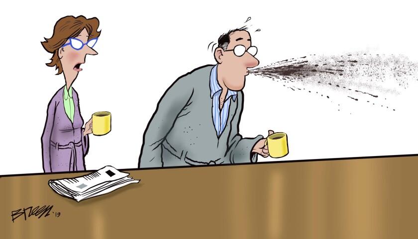 Steve Breen's cartoon caption contest for Aug. 23, 2019 - The San Diego Union-Tribune