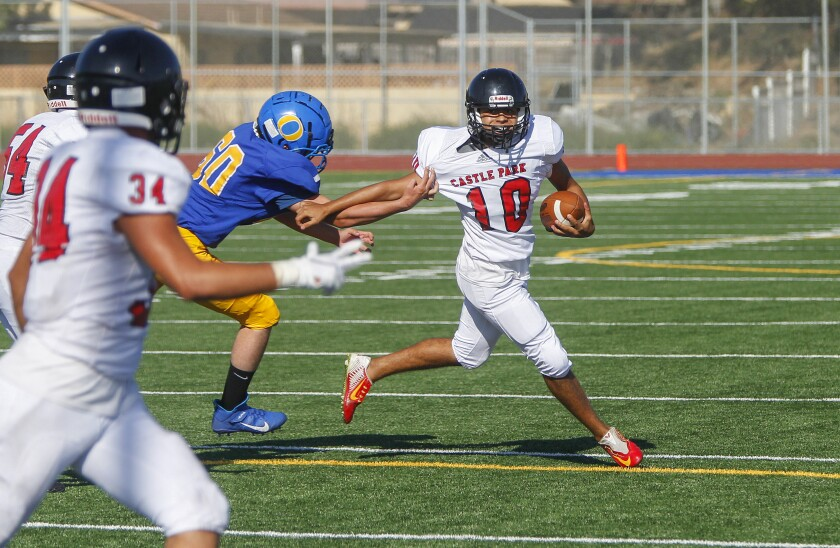 Week 1: Prep football scores, schedules, standings, stats, rankings - The San Diego Union-Tribune