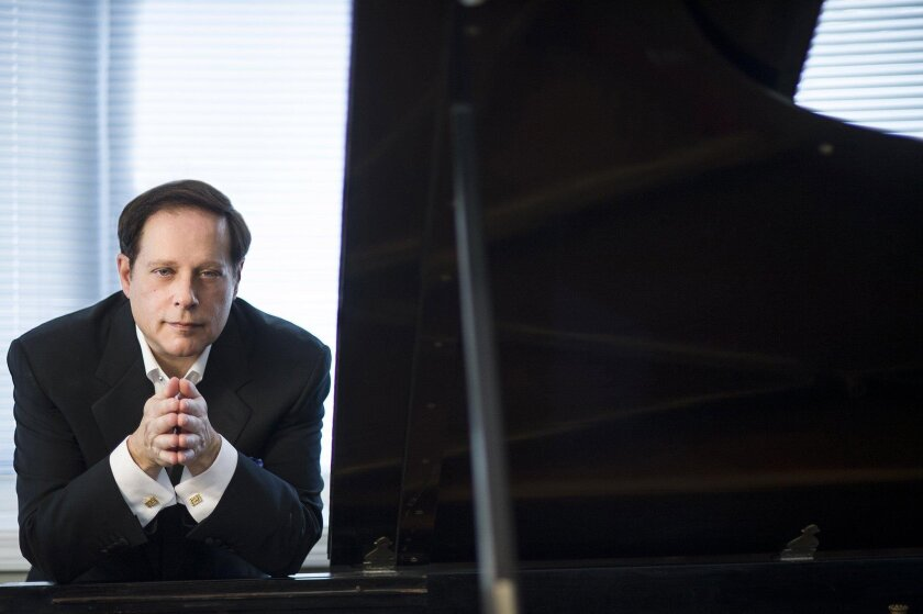 Pianist Michael Lewin performs Saturday, Sept. 17, at the California Center for the Arts, Escondido.