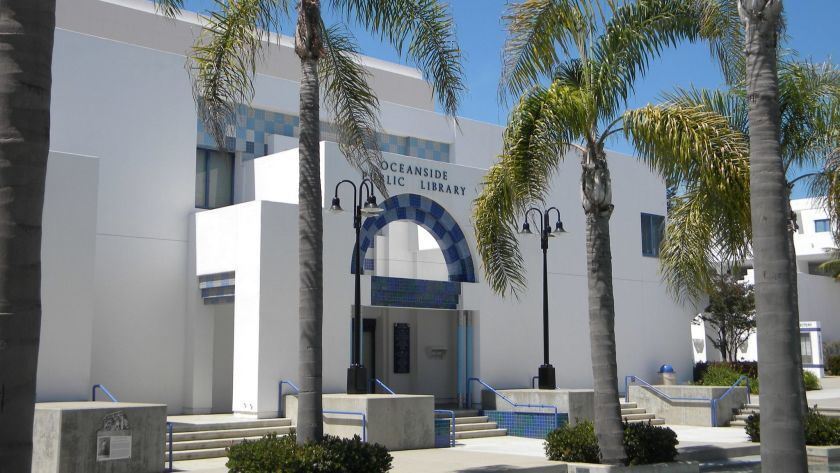 The Oceanside Library will reopen its Civic Center location
