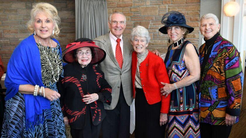 Cheryl Mitchell, Merle Lotherington, Charlie King, Sister Virginia Rodee, Judy Brucker, Diane Hazard
