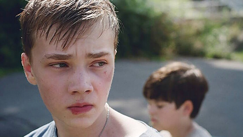 "Charlie Plummer, left, and Cory Nichols in the coming-of-age movie ""King Jack."""