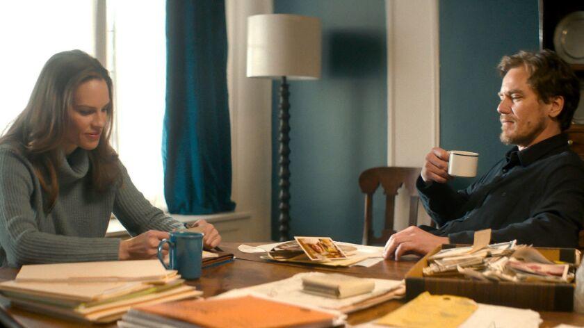 "(L-R) - Hilary Swank stars as ?Bridget? and Michael Shannon stars as ?Nick? in Elizabeth Chomko?s """