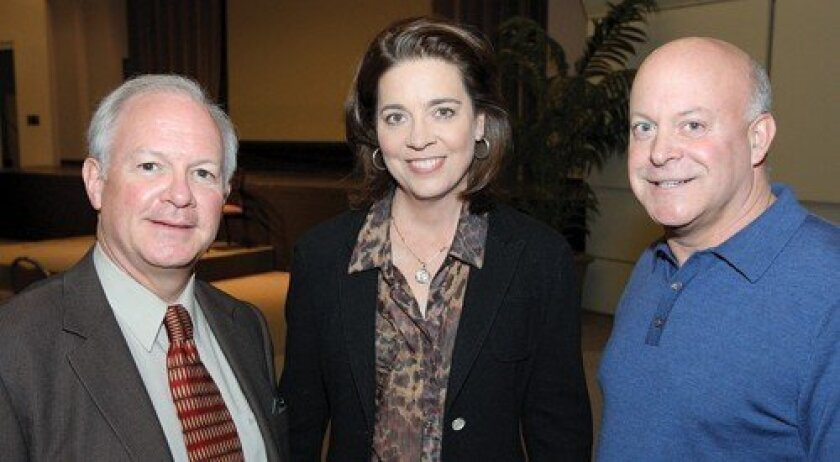Rev. Jack Baca, Paige Vanosky, Ken Ravazzolo (Photo: Jon Clark)