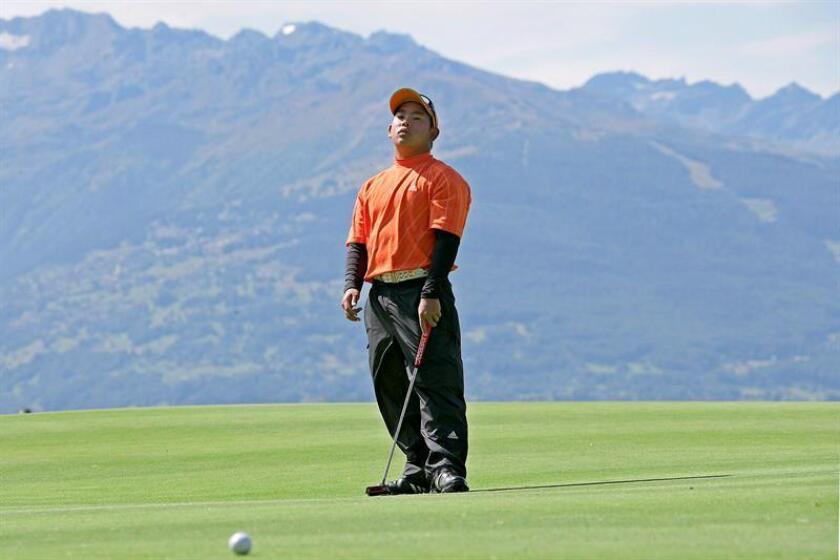 El golfista estadounidense Tadd Fujikawa. EFE/Archivo