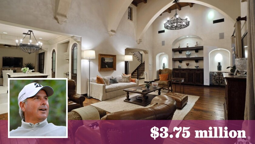 Golfer Fred Couples has put his home in La Quinta's Madison Club community back on the market for $3.75 million.