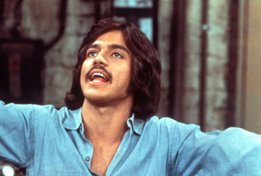 undated handout photo of Freddie Prinze, from Chico and the Man. Chico and the Man debuted in 1974 on NBC.