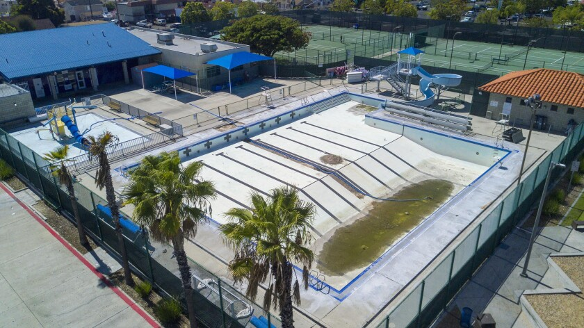The City Heights Recreation Center swimming pool has been closed for two years.