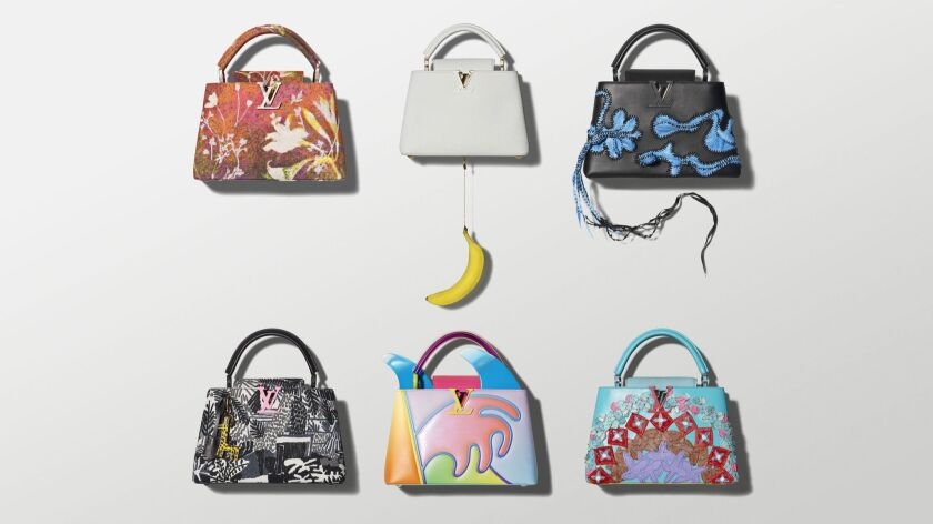 Louis Vuitton, ArtyCapucines Limited Edition Handbags in collaboration with global artist.