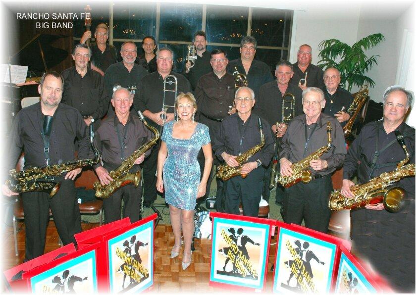 The Rancho Santa Fe Big Band performs Nov. 8 at the Rancho Santa Fe Village Church Fellowship Hall. Courtesy photo