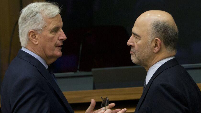 Michel Barnier, Pierre Moscovici