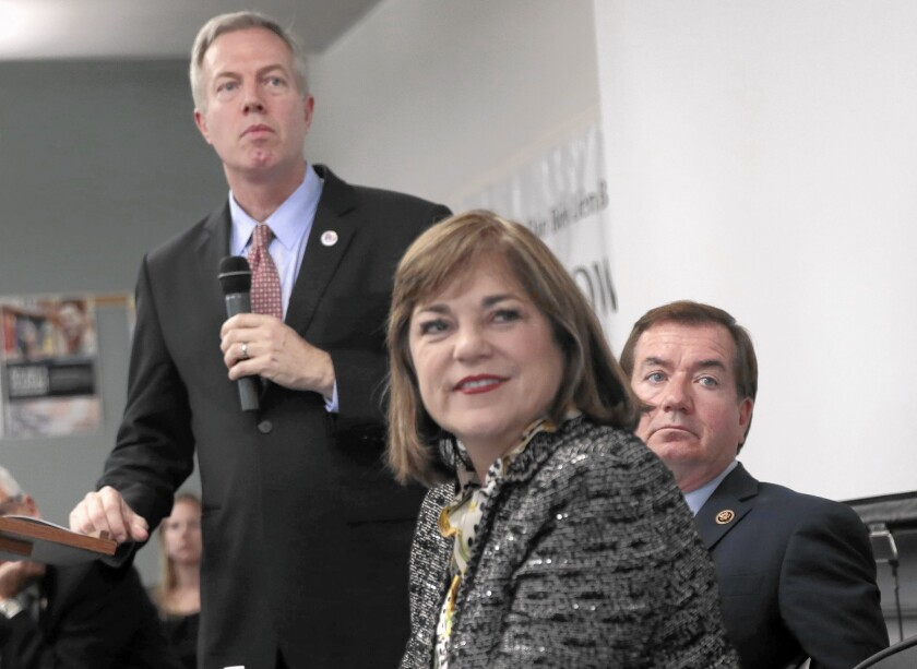 Rep. Loretta Sanchez of Orange County, who is running for the U.S. Senate, is one of a dwindling number of Democratic women in California's legislative ranks.