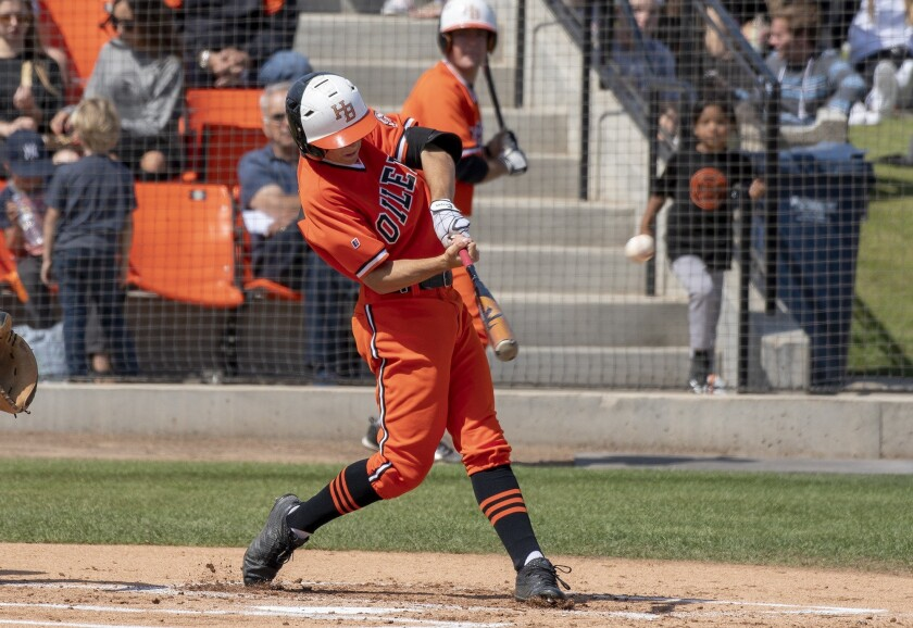 Huntington Beach's Jake Vogel was taken by the Dodgers in the third round of Thursday's MLB draft.