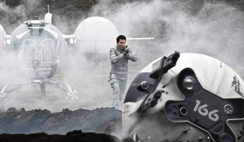 Review: Tom Cruise's 'Oblivion' a sci-fi adventure to remember