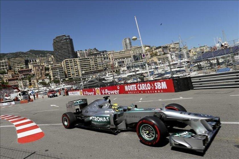 El piloto alemán de la escudería Mercedes AMG de Fórmula Uno, Nico Rosberg. EFE