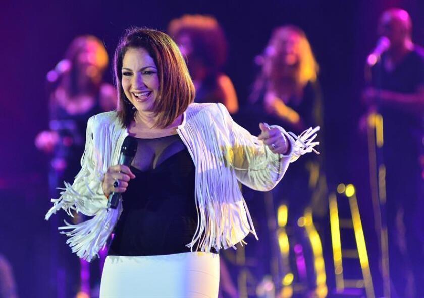 La cantante Gloria Estefan durante un concierto. EFE/Archivo