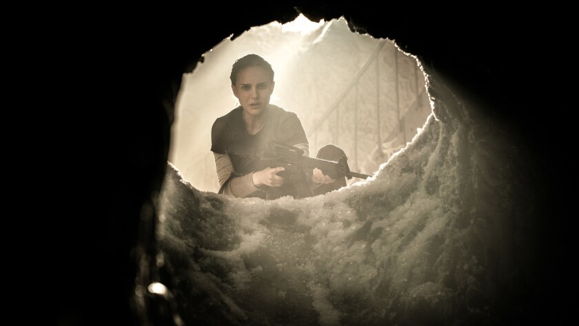 "Natalie Portman in ""Annihilation"" from Paramount Pictures and Skydance. Credit: Peter Mountain"