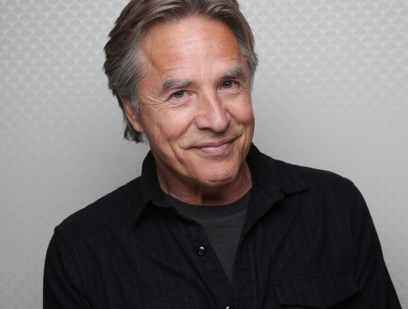 """Don Johnson is at Sundance in support of Jim Mickle's """"Cold in July,"""" in which the """"Miami Vice"""" and """"Nash Bridges"""" actor plays Jim Bob, whip- and quip-cracking Texan."""